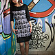 Платья ручной работы. Вязаное авторское платье Вьюны. IRINASHIROKOVA. Интернет-магазин Ярмарка Мастеров. Орнамент