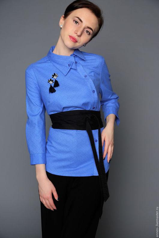 Дизайнерские блузки ANNEN annen_wear   Украшение можно приобрести отдельно! Пояс в комплект не входит.