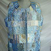 Одежда ручной работы. Ярмарка Мастеров - ручная работа Жилетка люкс. Handmade.