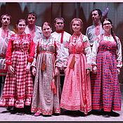 Одежда ручной работы. Ярмарка Мастеров - ручная работа Сарафан русский традиционный круговой. Handmade.