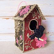 Для дома и интерьера handmade. Livemaster - original item Birdhouse decorative.. Handmade.