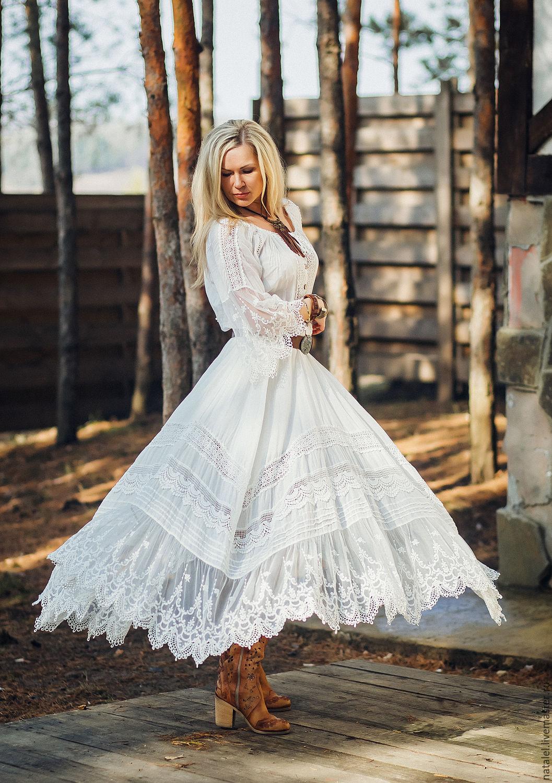 Свадебная юбка и блузка