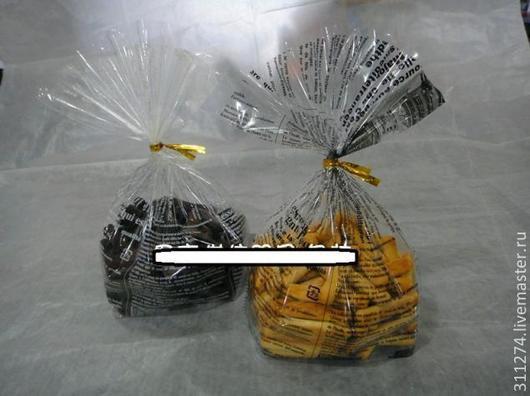 Упаковка ручной работы. Ярмарка Мастеров - ручная работа. Купить Пакет для упаковки подарка  с  объемным дном.. Handmade. Чёрно-белый