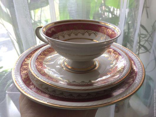 Винтажная посуда. Ярмарка Мастеров - ручная работа. Купить Роскошная чайная тройка, Бавария,. Handmade. Комбинированный