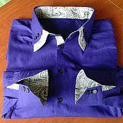 Одежда ручной работы. Ярмарка Мастеров - ручная работа Сорочка мужская, рубашка.. Handmade.