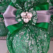 Елочные игрушки ручной работы. Ярмарка Мастеров - ручная работа Новогодние шары на ёлку. Handmade.