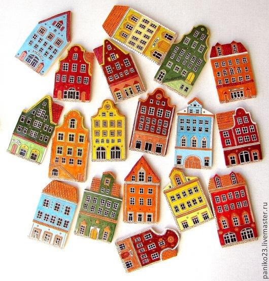 """Кухня ручной работы. Ярмарка Мастеров - ручная работа. Купить Керамический фартук на кухню """"Европа"""". Handmade. Разноцветный, фартук"""
