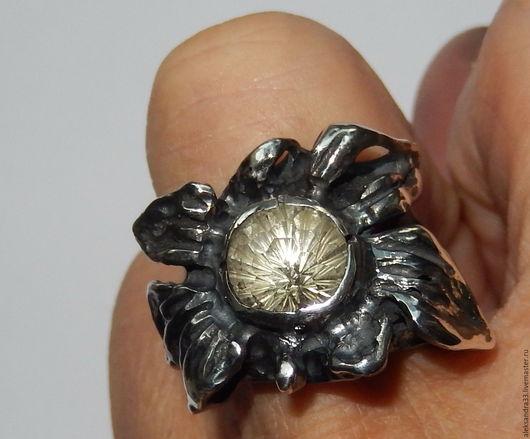 """Кольца ручной работы. Ярмарка Мастеров - ручная работа. Купить авторское кольцо """"Может и ромашка......"""". Handmade. Единичный экземпляр"""