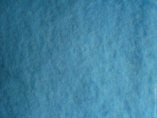 Валяние ручной работы. Ярмарка Мастеров - ручная работа. Купить Шерсть для валяния кардочес, 27 мкр, Light blue. Handmade.