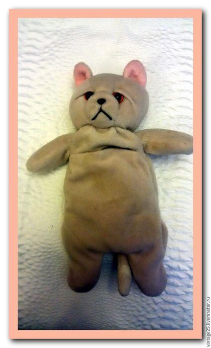 Винтажные куклы и игрушки. Ярмарка Мастеров - ручная работа. Купить Мишутка антистресс. Handmade. Бежевый, винтажный мишка, мишка топтыжка