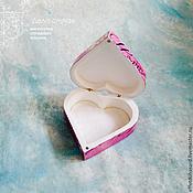 Для дома и интерьера ручной работы. Ярмарка Мастеров - ручная работа Шкатулка - Сердце принцессы. Handmade.