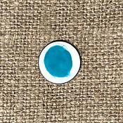 Материалы для творчества handmade. Livemaster - original item Ferro Sunshine overglaze paint No. №121234 turquoise. Handmade.