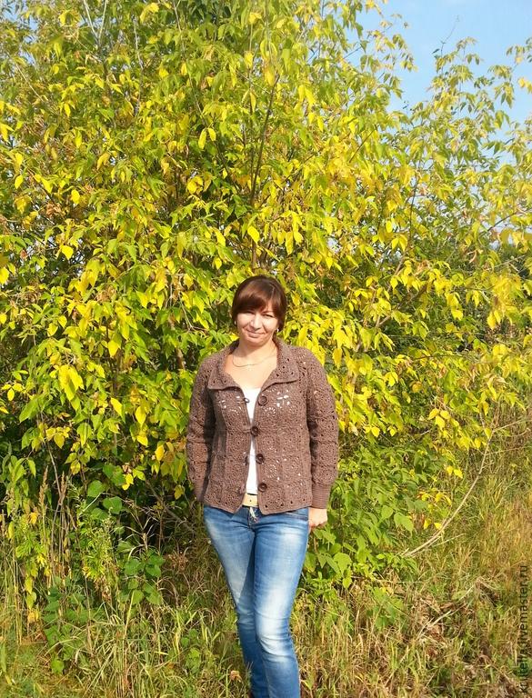 Осенняя женская кофточка доставка