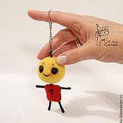 Куклы и игрушки ручной работы. Ярмарка Мастеров - ручная работа Брелок - крошка Бо.. Handmade.