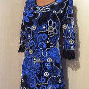 Одежда handmade. Livemaster - original item dress Irish lace. Floral motifs.. Handmade.