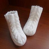 Работы для детей, ручной работы. Ярмарка Мастеров - ручная работа носочки. Handmade.