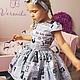 Одежда для девочек, ручной работы. Платье для девочки. Yansons Domik (yansonsdomik). Интернет-магазин Ярмарка Мастеров. Рисунок, пышное платье