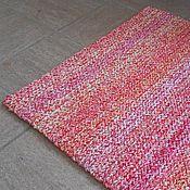 """Для дома и интерьера ручной работы. Ярмарка Мастеров - ручная работа коврик вязаный меланжевый """"Зефир"""". Handmade."""