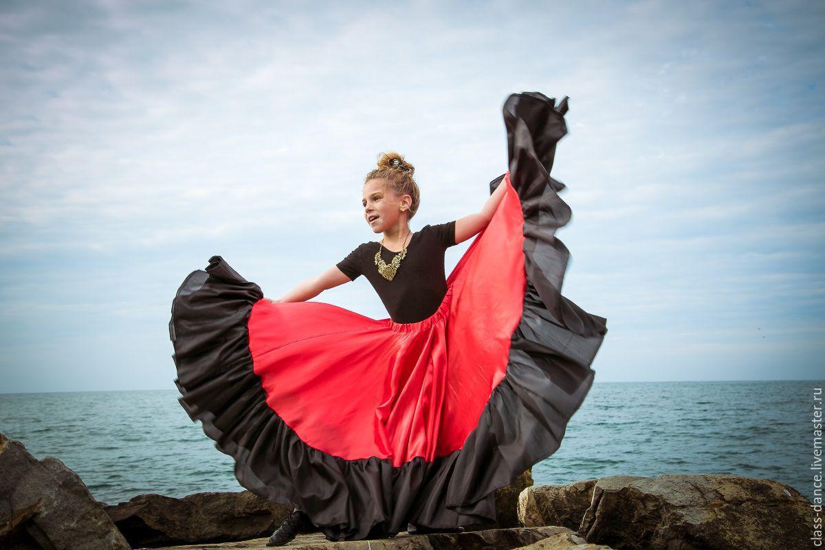 Танцевальная юбка для девочек купить