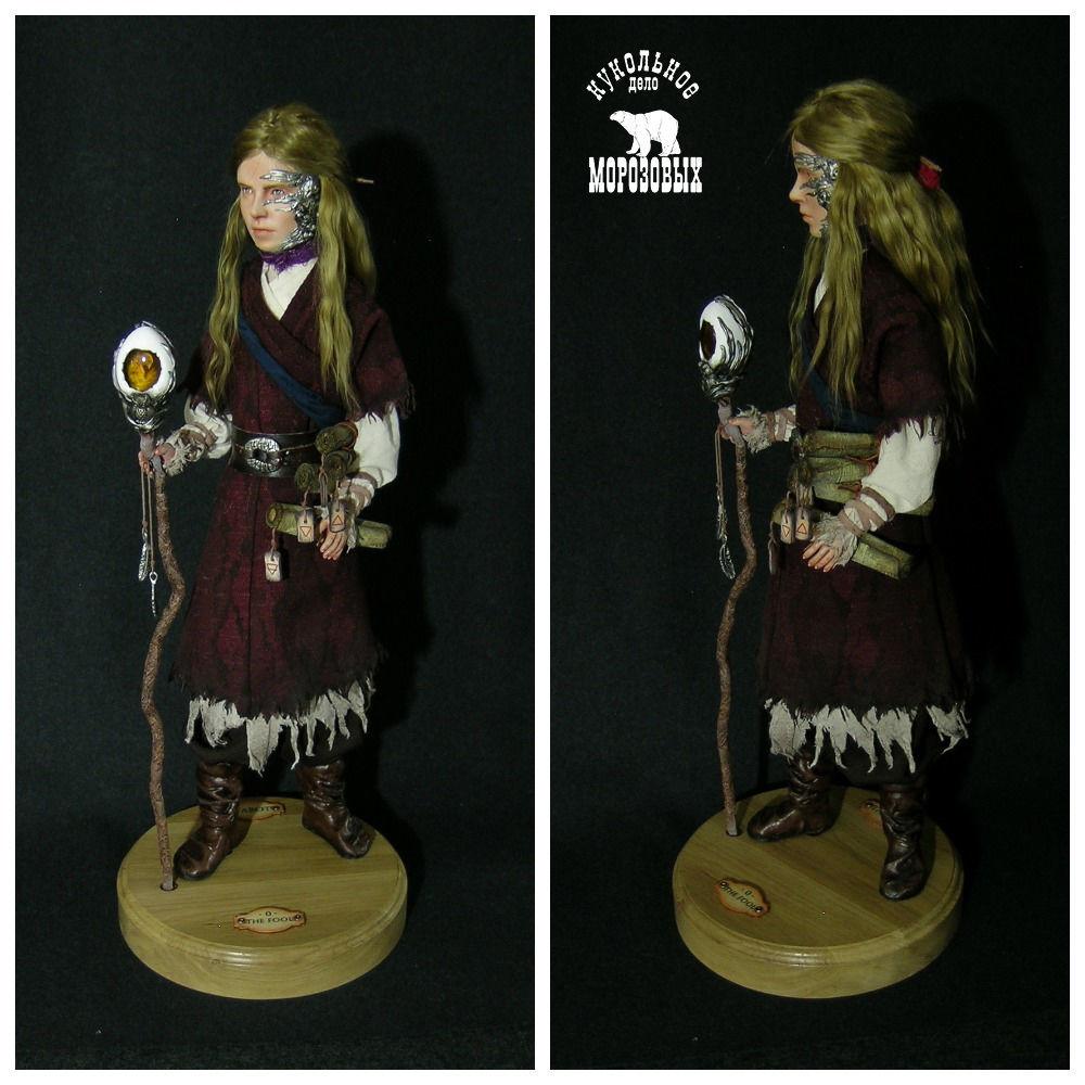 Tarot. The Fool / Таро. Шут. Коллекционная кукла, Интерьерная кукла, Лосино-Петровский,  Фото №1