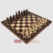 Активный отдых и развлечения handmade. Livemaster - original item Chess carved