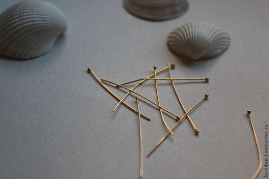 шляпка  1.4 mm, длина 30 mm, сечение 0.44 mm