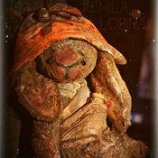 """Куклы и игрушки ручной работы. Ярмарка Мастеров - ручная работа """"Бубенчик"""" зайка на ладошке. Handmade."""