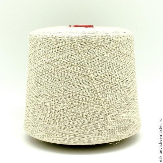 Вязание ручной работы. Ярмарка Мастеров - ручная работа. Купить Шерсть ягненка. Handmade. Молочный цвет, итальянская пряжа, пряжа