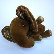 Куклы и игрушки ручной работы. Ярмарка Мастеров - ручная работа Слон Шоко. Handmade.