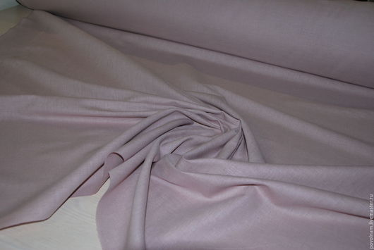 """Шитье ручной работы. Ярмарка Мастеров - ручная работа. Купить Лён-хлопок """"Бледно-розовый"""" мягкий. Handmade. Бледно-розовый"""