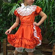 """Работы для детей, ручной работы. Ярмарка Мастеров - ручная работа Платье для девочки """"Кантри"""". Handmade."""