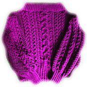 Одежда handmade. Livemaster - original item Sweater style Ruban. Handmade.