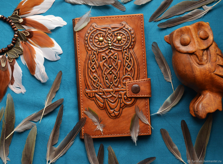 "Leather wallet ""MAGIC OWL"", Wallets, Krivoy Rog,  Фото №1"