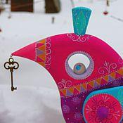 Для дома и интерьера ручной работы. Ярмарка Мастеров - ручная работа Птица ,приносящая счастье. Handmade.