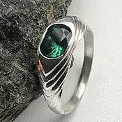 Украшения handmade. Livemaster - original item Natural VS Emerald 1,19 ct, silver emerald ring. Handmade.