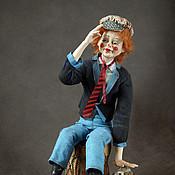 """Куклы и игрушки ручной работы. Ярмарка Мастеров - ручная работа Авторская кукла """"Клоун"""". Handmade."""