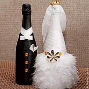 Свадебный салон ручной работы. Ярмарка Мастеров - ручная работа Свадебный комплект с бокалами и книгой. Handmade.