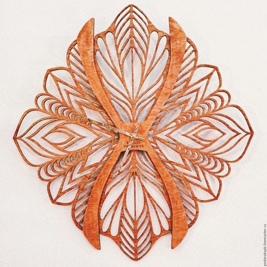 """Часы для дома ручной работы. Ярмарка Мастеров - ручная работа. Купить Дизайнерские интерьерные часы """" Бабочка"""". Handmade."""