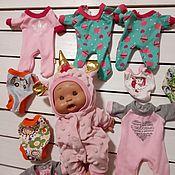 Одежда для кукол ручной работы. Ярмарка Мастеров - ручная работа Одежда для пупсиков нинес донил. Handmade.