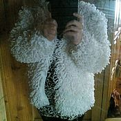 Одежда ручной работы. Ярмарка Мастеров - ручная работа Кофта-шубка. Handmade.