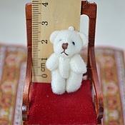 Материалы для творчества ручной работы. Ярмарка Мастеров - ручная работа Мишка миниатюрный 3 см. Handmade.