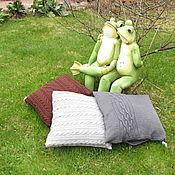 Для дома и интерьера ручной работы. Ярмарка Мастеров - ручная работа Уютная подушка (цена за 1 шт.). Handmade.