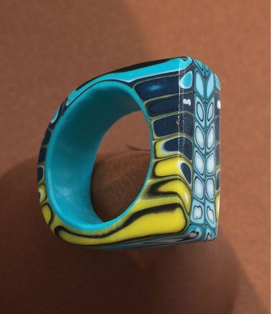 Кольца ручной работы. Ярмарка Мастеров - ручная работа. Купить Кольцо из полимерной глины. Handmade. Кольцо ручной работы