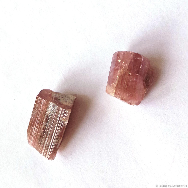 Турмалин кристаллы полихромные натуральные коллекционные камни, Минералы друза, Москва, Фото №1