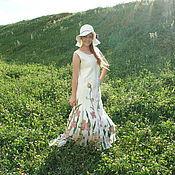 """Одежда ручной работы. Ярмарка Мастеров - ручная работа Платье валяное"""" Летние мотивы"""". Handmade."""