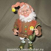"""Куклы и игрушки ручной работы. Ярмарка Мастеров - ручная работа кукла Гном """"Гномыч"""". Handmade."""