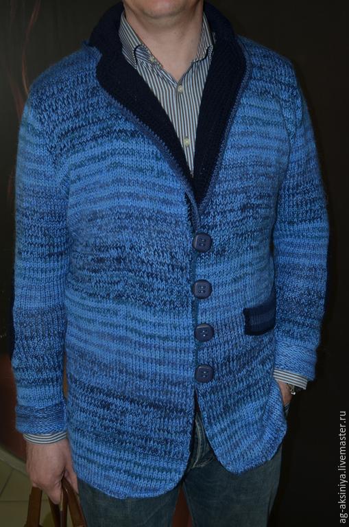 вязаные пиджаки фото мужские