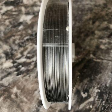 Материалы для творчества ручной работы. Ярмарка Мастеров - ручная работа Тросик ювелирный, NJI, Южная Корея, диаметр 0,3 мм. Handmade.