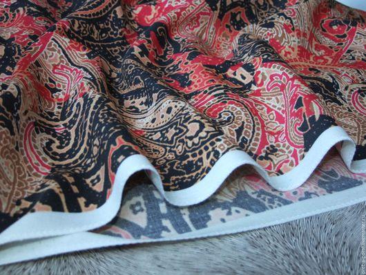 Шитье ручной работы. Ярмарка Мастеров - ручная работа. Купить ETRO шерстяной габардин плательная , Италия. Handmade. Разноцветный