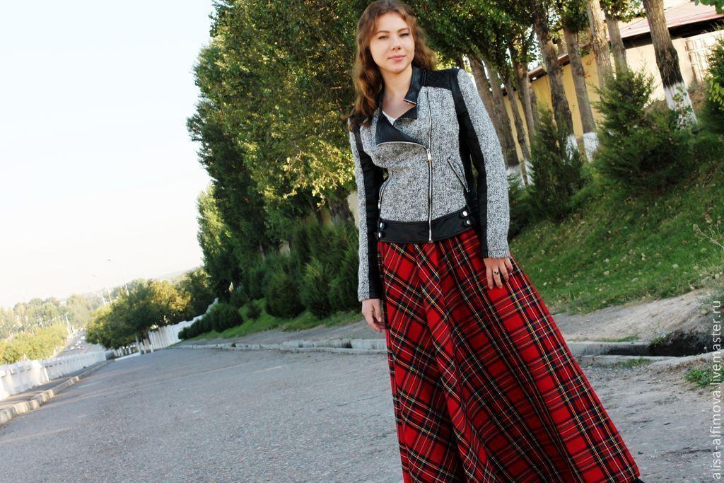 Где купить юбку шотландку